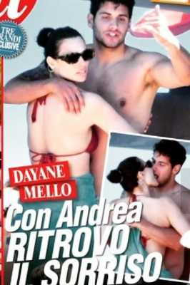 Dayane Mello e Andrea