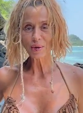 Valeria Marini dimagrita a Supervivientes