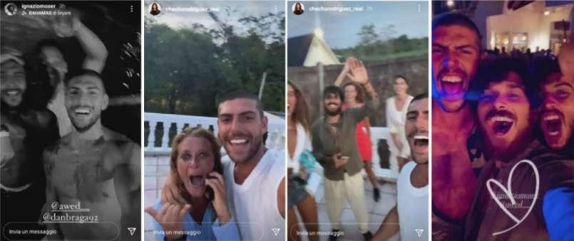 festa dopo finale Isola