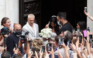 Federico Bernardeschi Veronica Ciardi sposi