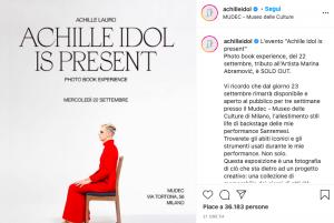 Achille Lauro Is Present Mudec Bollicine Vip
