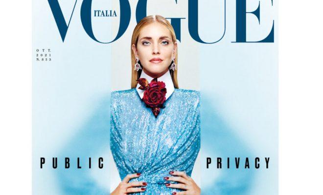 Chiara Ferragni sulla cover di VOGUE Italia